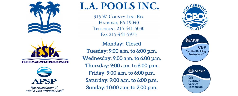 L.A. Pools, Inc.